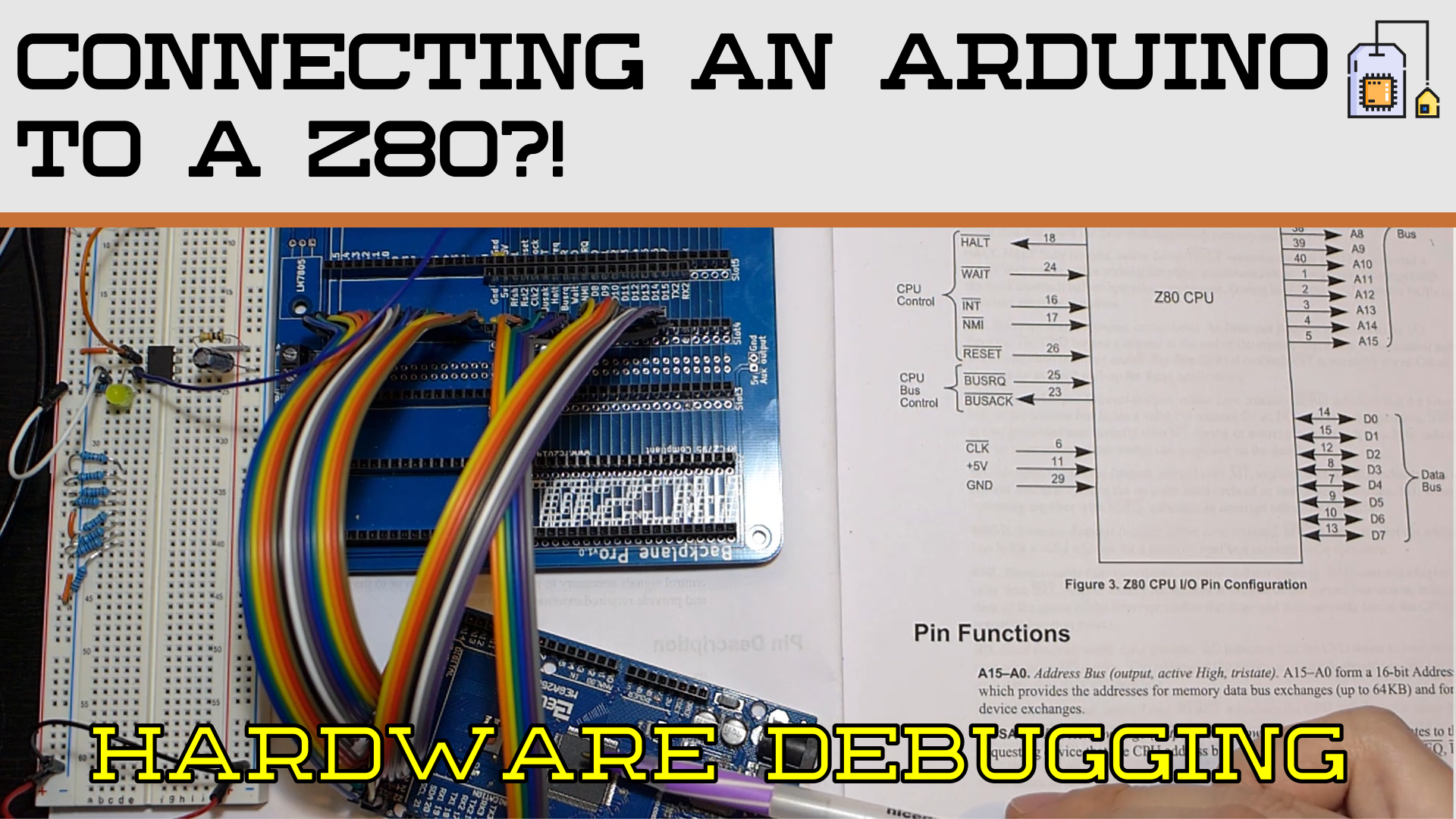 Debugging Z80 With Arduino