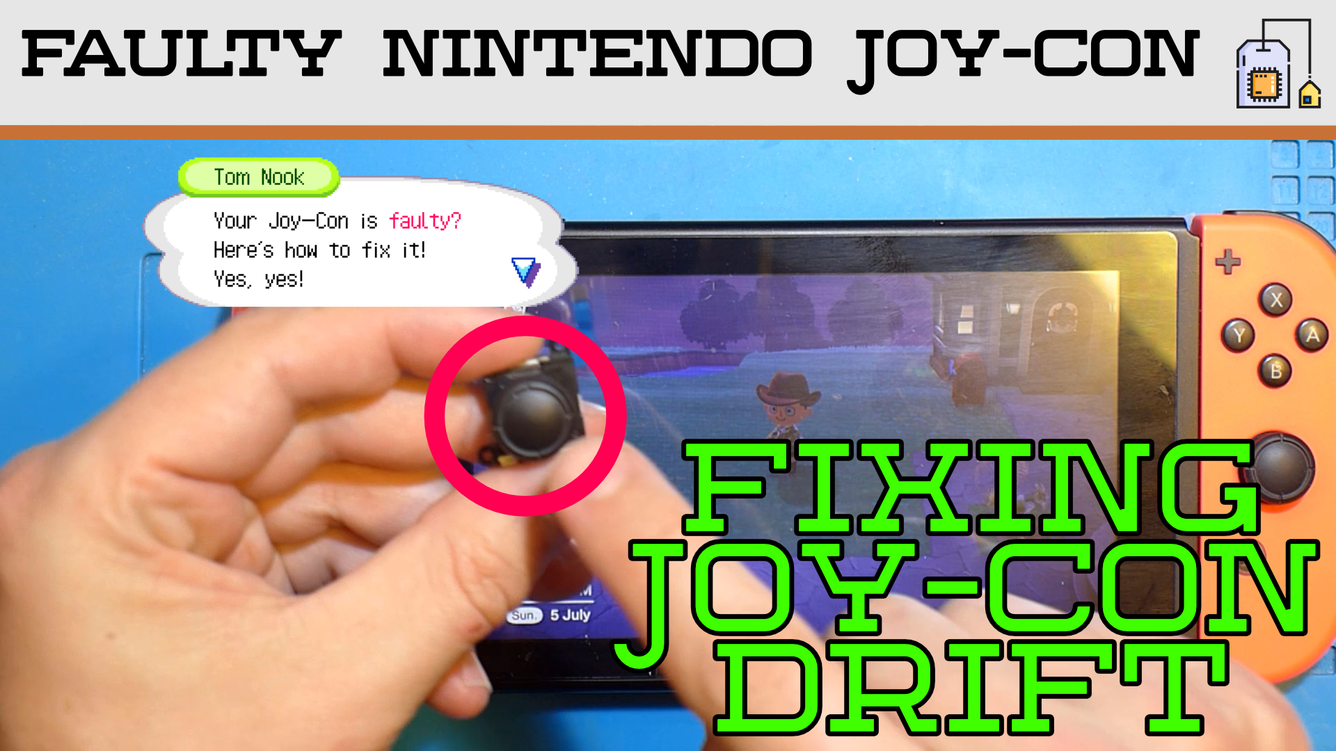 Switch Joycon Drift Repair