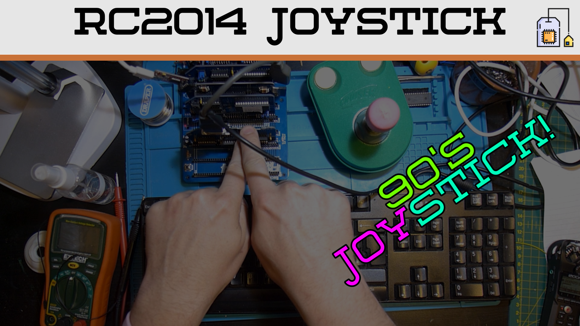 The Joy of Sticks - RC2014 Z80 Joystick Kit